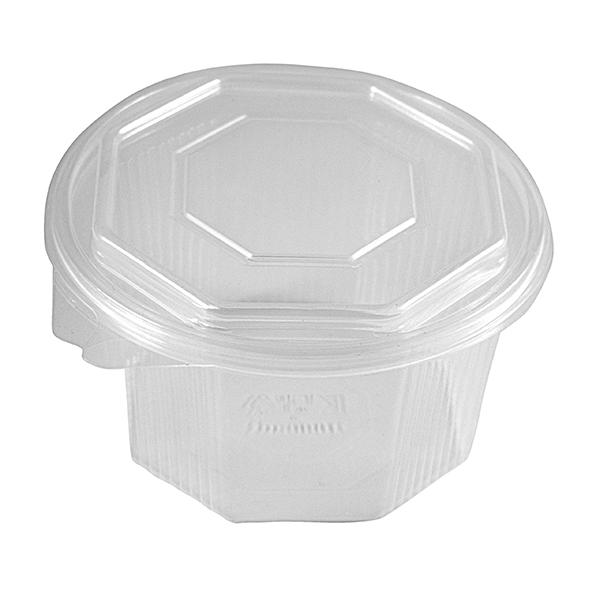 Haushaltsbox sechseckig mit Deckel 1500 ml