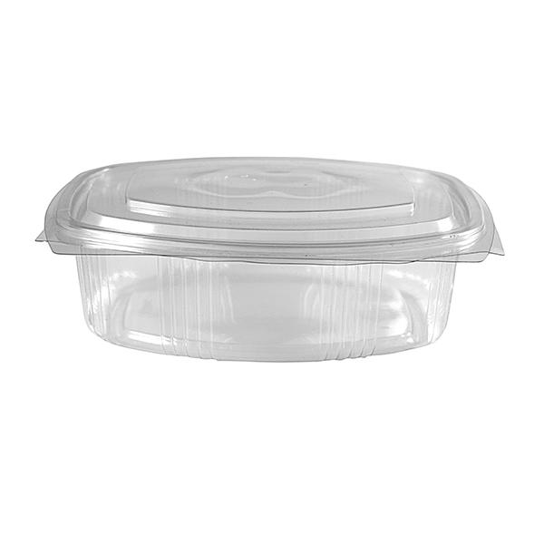 """Salatschale """"ovala"""" 750 ml mit anhängendem Deckel – PET"""
