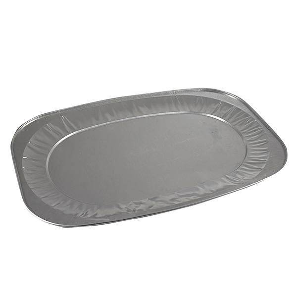 Alu – Servierplatte, Cateringplatte groß 545 x 360 mm