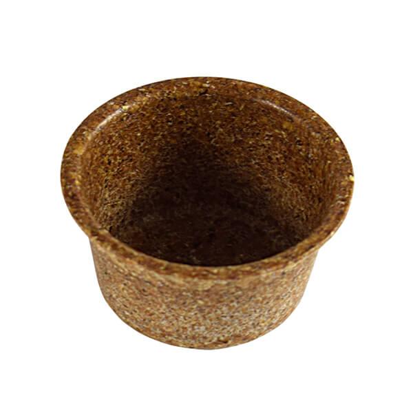 Dip-Soßen-Becher aus Weizenkleie