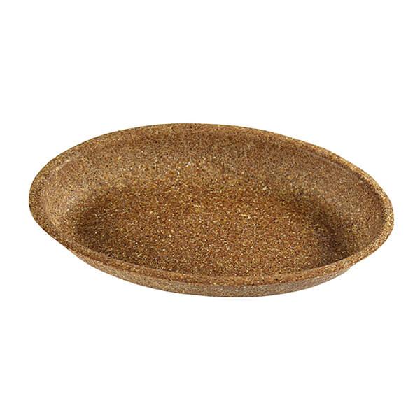 Cateringplatte aus Weizenkleie